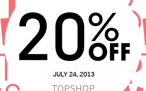 Topshop & Topman Opening Sale @ SM Aura Premier July 2013