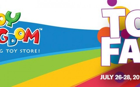 Kingdom's Toy Fair at SMX Convention Center: July 26 – 28, 2013