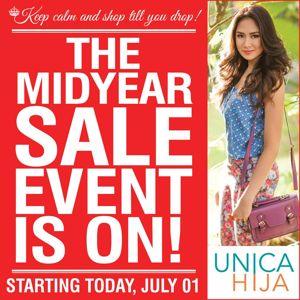 Unica Hija Mid-Year Sale July 2013