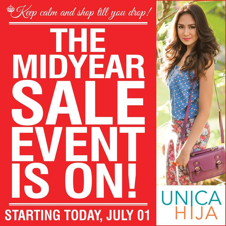 Unica Hija Mid-Year Sale July 2013
