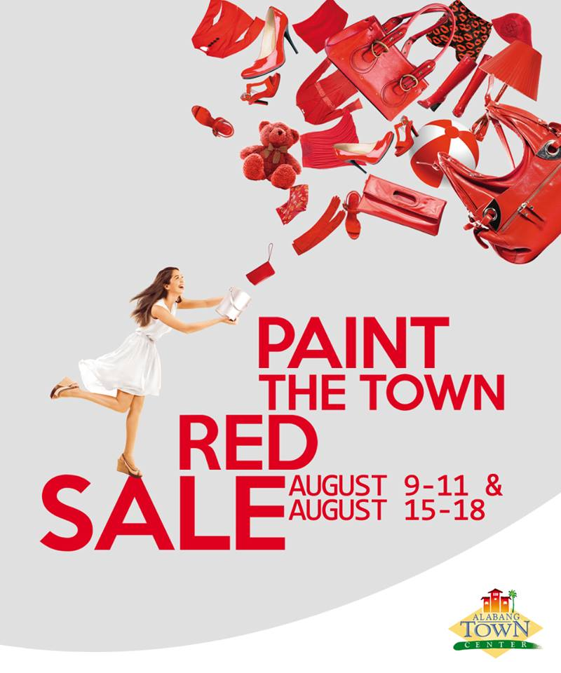 Alabang Town Center Paint The Town Red Sale August 2013