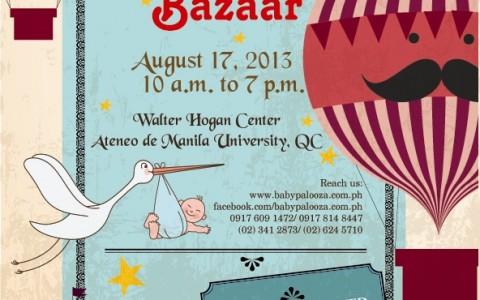 Babypalooza Bazaar @ Ateneo De Manila University August 2013