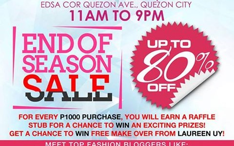 Bazaar For All Season @ Eton Centris August - September 2013
