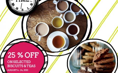 Marks & Spencer Biscuits & Teas Sale August 2013