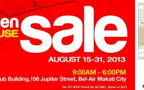 Phiten Warehouse Sale @ Networld Hub Building August 2013