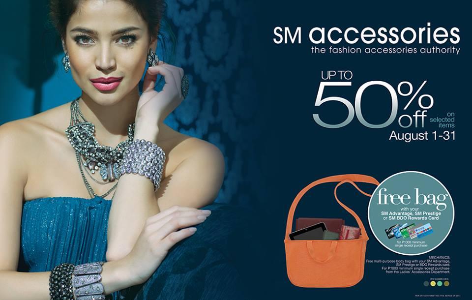 SM Accessories Sale August 2013
