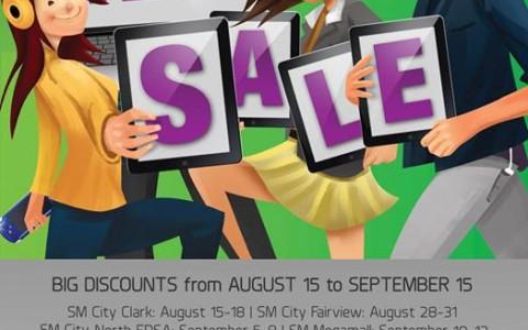 SM Cyberzone Tech Sale August - September 2013