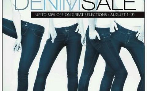 SM Ladies Fashion Denim Sale August 2013