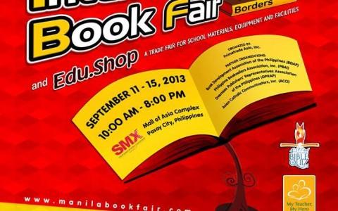 34th Manila International Book Fair @ SMX Convention Center September 2013