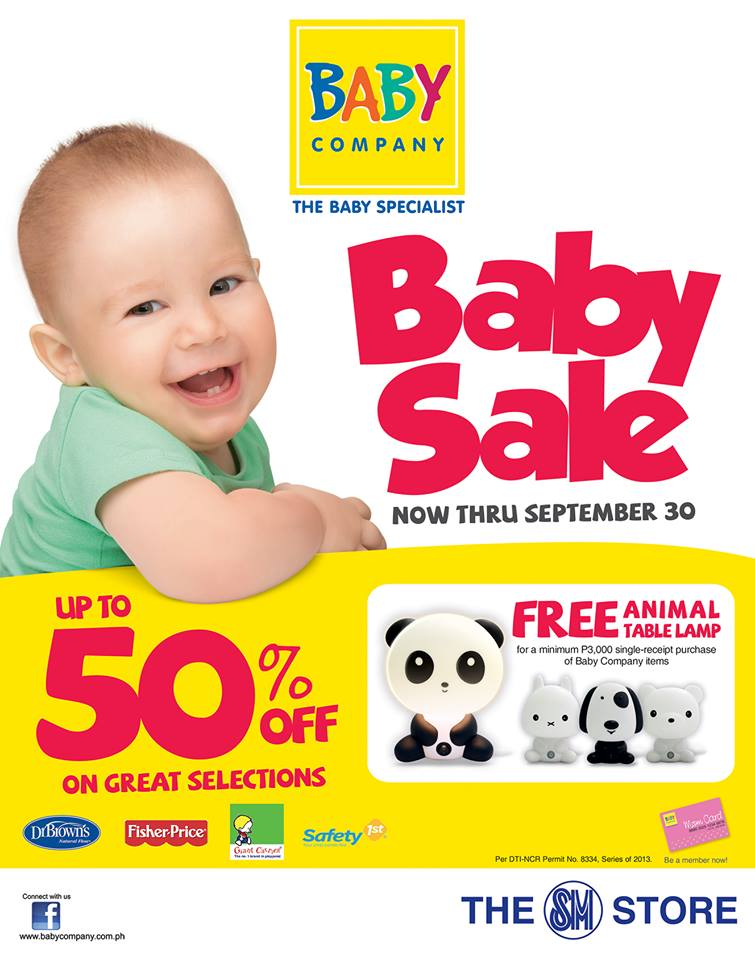 Baby Company Baby Sale September 2013