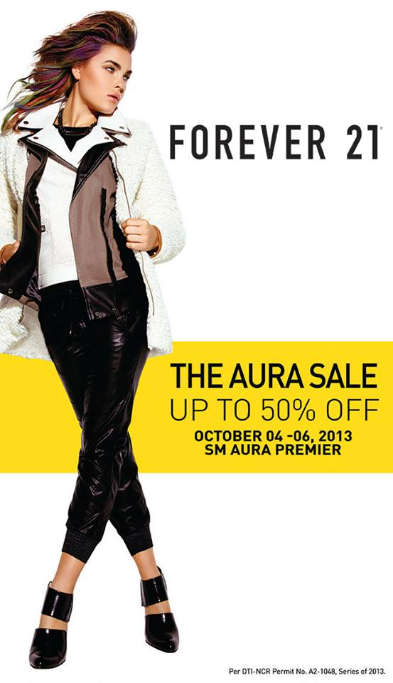 Forever 21 Sale @ SM Aura October 2013