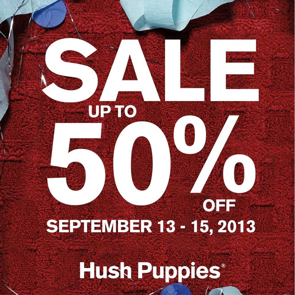 Hush Puppies Weekend Sale September 2013