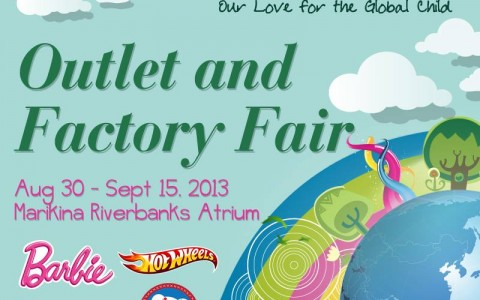 IGM Kids Hub Outlet and Factory Fair @ Marikina Riverbanks Atrium August - September 2013