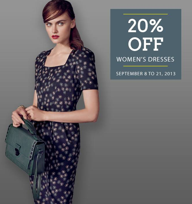 Marks & Spencer Women's Dresses Sale September 2013