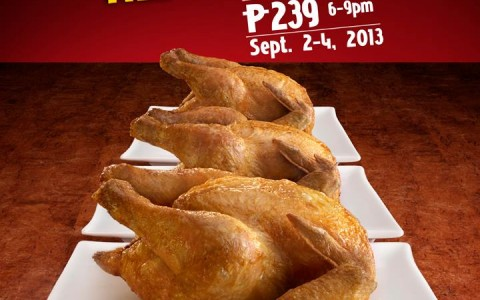 Max's Chicken All You Can @ Robinsons Magnolia September 2013