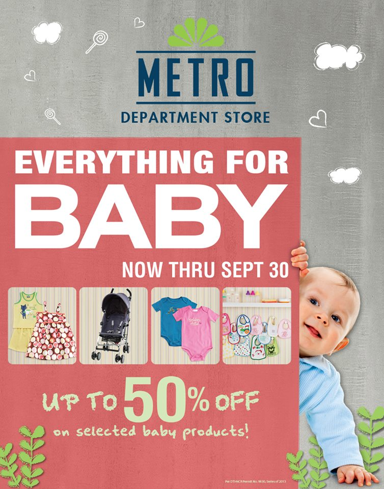 Metro Department Store Everything For Baby Sale September 2013