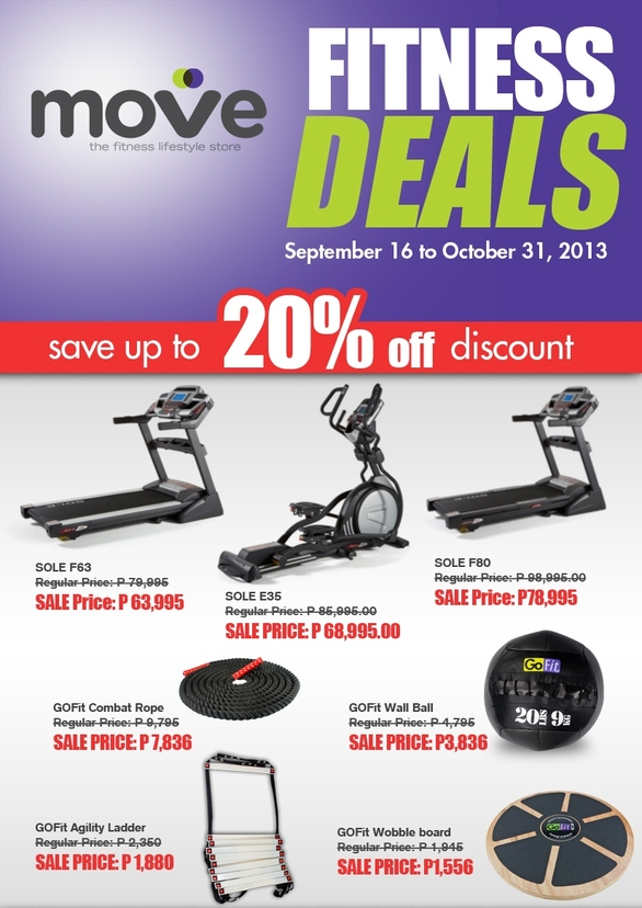 Move Fitness Deals @ BGC: September - October 2013