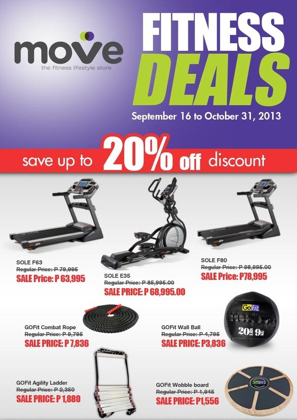 Move Fitness Deals @ BGC: September - October 2013