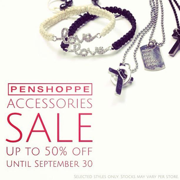 Penshoppe Accessories Sale September 2013