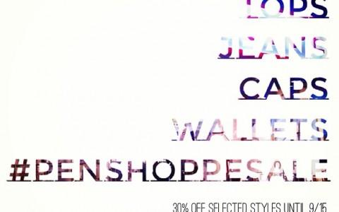 Penshoppe Sale September 2013