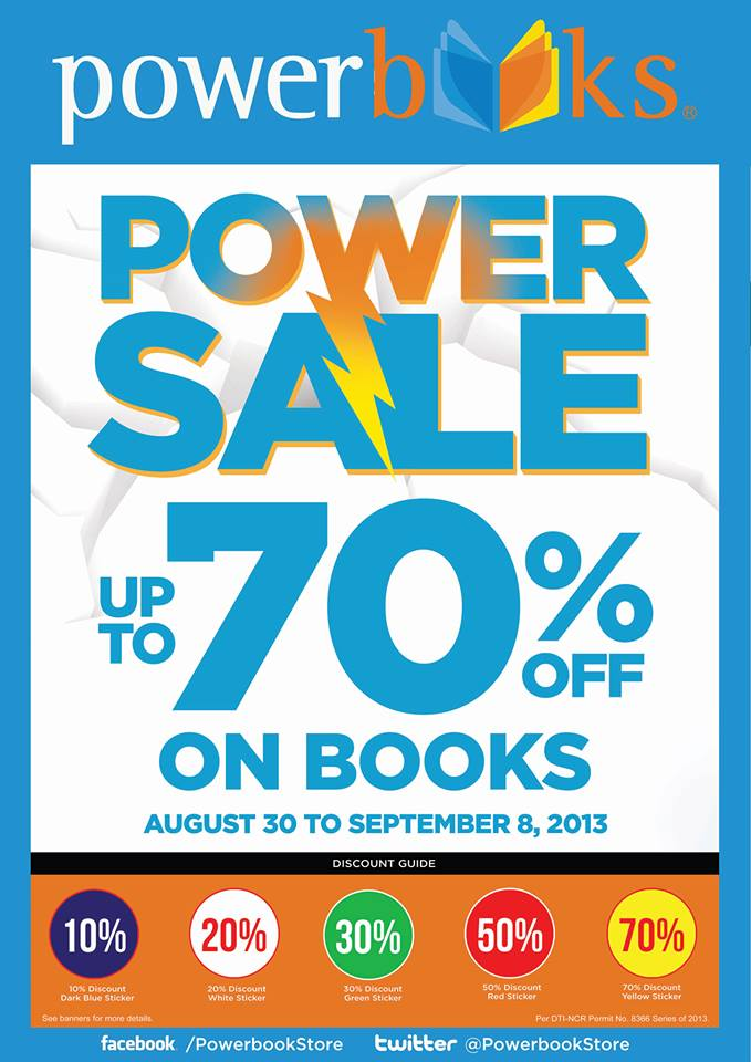 Powerbooks Power Sale August - September 2013