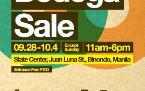 Primer Bodega Sale @ State Center September - October 2013