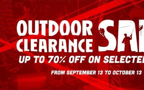 R.O.X. Outdoor Clearance Sale September - October 2013