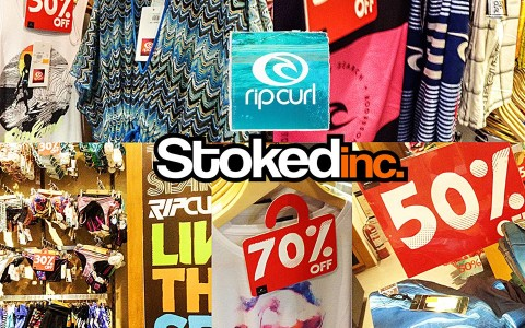 Stokedinc. & Ripcurl End of Season Sale September 2013