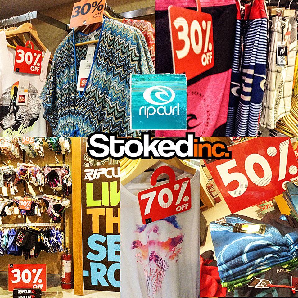 Stokedinc. & Ripcurl End of Season Sale September 2013