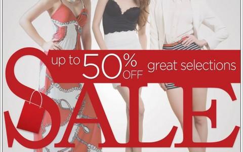 SM Ladies Fashion Sale September 2013