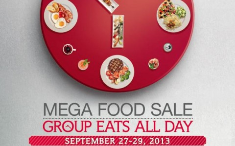 Mega Food Sale @ SM Megamall September 2013