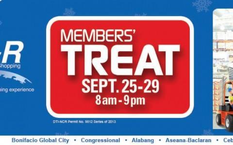 S&R Members' Treat September 2013