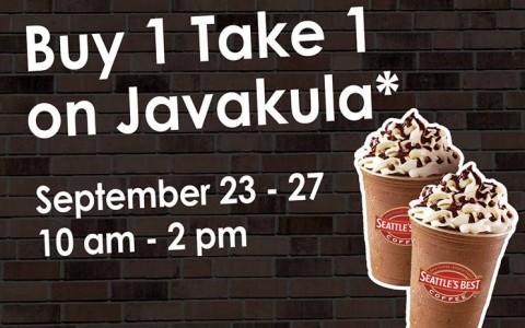 Seattle's Best Buy 1 Take 1 Javakula September 2013
