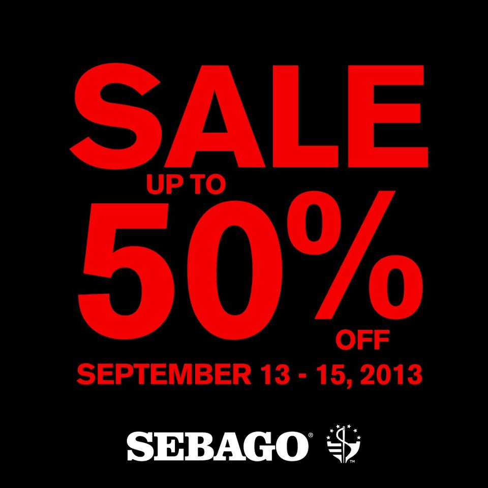 Sebago Weekend Sale September 2013