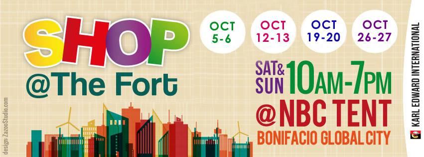 Shop @ The Fort October 2013