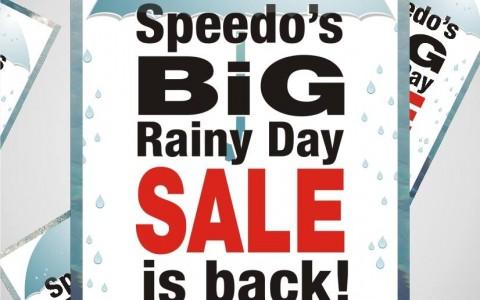 Speedo Big Rainy Day Sale August - November 2013
