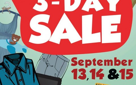 Sta. Lucia Mall 3-Day Sale September 2013