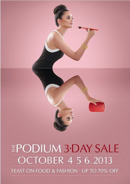 The Podium 3-Day Sale October 2013