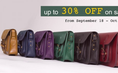 The School of Satchel Online Sale September - October 2013
