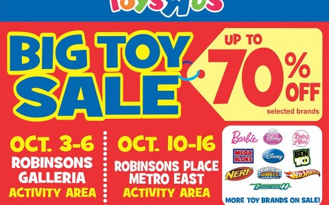 Toys R Us Big Toy Sale October 2013