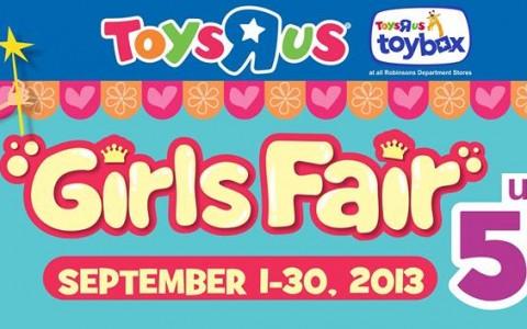 Toys R Us Girls Fair September 2013