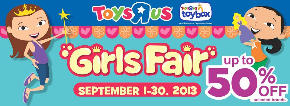 Toys R Us Girls Fair September 2013