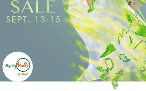 Trinoma Green Light Sale September 2013