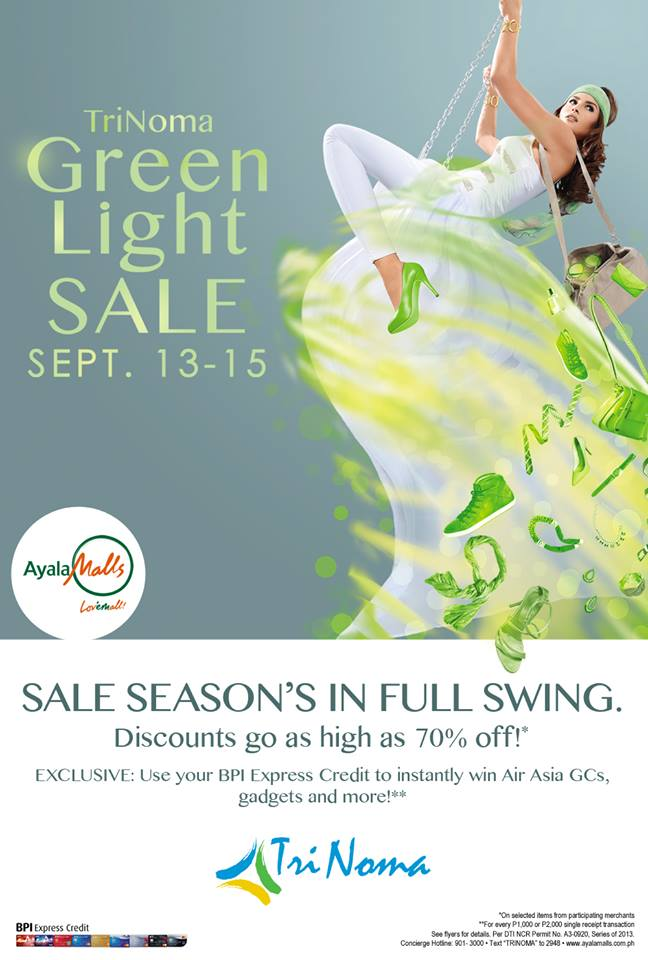 Trinoma Green Light Sale September 2013