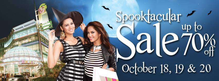 Araneta Center Spooktacular Sale October 2013