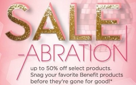 Benefit Cosmetics Sale-abration @ Greenbelt 5 October 2013