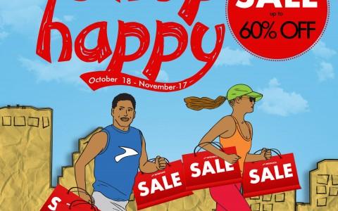 Brooks Run Happy Shop Happy Sale @ SM City North Edsa October - November 2013
