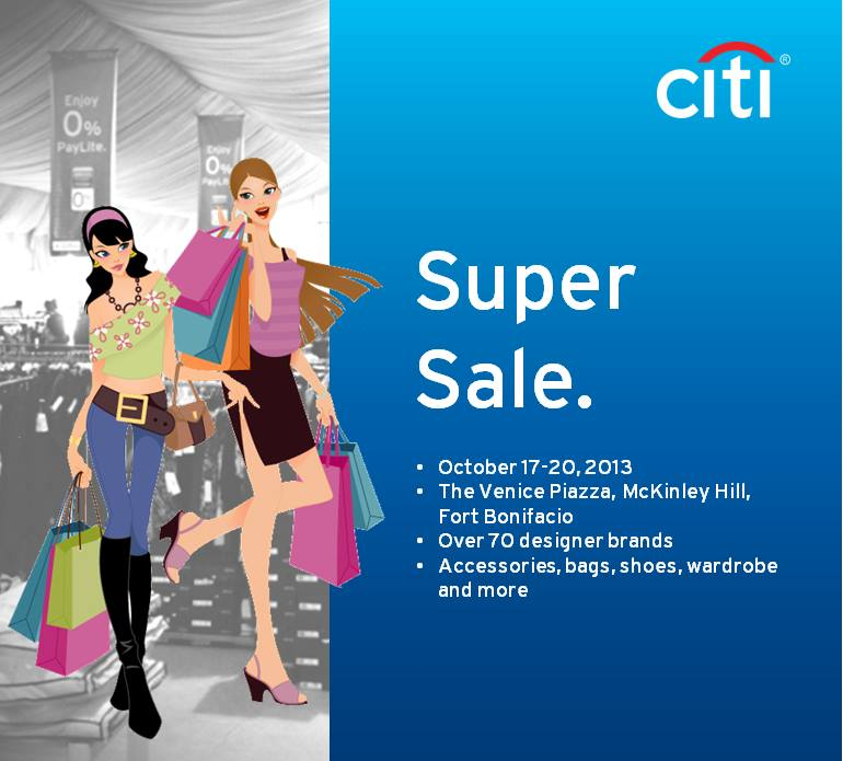 Citibank Super Sale @ The Venice Piazza October 2013