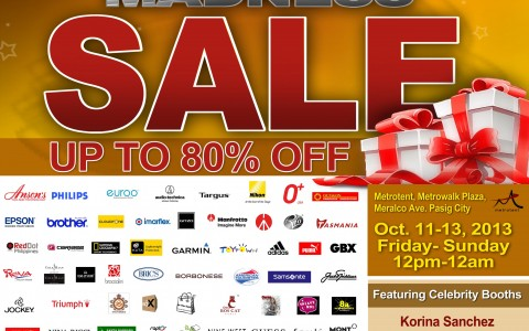 Gifts and Gadgets Midnight Madness Sale @ Metrowalk October 2013