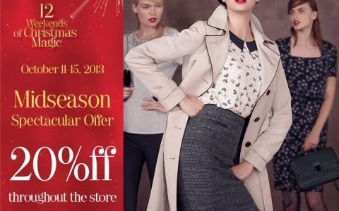 Marks & Spencer Mid-Season Spectacular October 2013